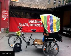 Fahrrad-Taxi - Sonderanfertigungen